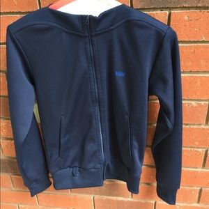 "Nike square neck sweater 2005"" medium navy blue"